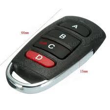 garage door alarmUniversal 4 Buttons Cloning 433mhz Electric Garage Door Remote