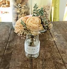 Milk Bottle Decorating Ideas rustic wedding centerpieces Rustic Wedding Centerpieces 33