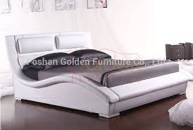 2015 latest double bed designs clear acrylic bedroom furniture