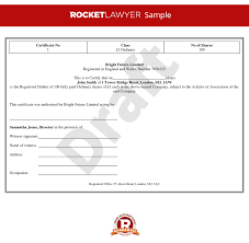 Stock Certificate Template Share Certificate Template Stock Certificate