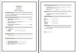 Free Download Cv Format In Ms Word 2010 Professional Resume