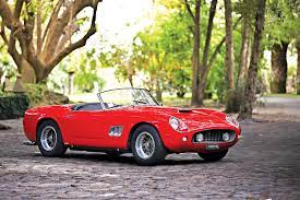 Adjusted for technological inflation, that's about 1000 horses in 2020 terms. 1961 Ferrari 250 Gt Swb California Spyder Sports Car Market