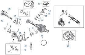yj wrangler model 35 rear axle 4 wheel parts F350 Rear Axle Diagram F350 Rear Axle Diagram #74 2004 f350 rear axle diagram