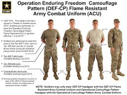 Military Camouflage Patterns New Operational Camouflage Pattern Army Combat Uniforms Available July 48