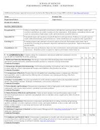 Format Of Performance Appraisal Form Bunch Ideas Of Staff Appraisal form Template format Of Performance 1