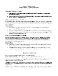 Army Resume Samples Military Veteran Resume Examples Military To