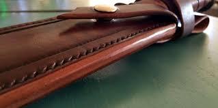 custom made ka bar leather knife sheath
