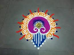 Small Picture small and easy Sanskarbharti colourful rangoli designskolam