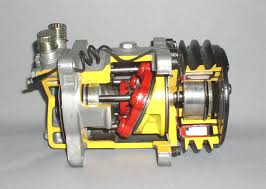 car air conditioning compressor. a/cdiymaintenance tips ac-compressor-inside car air conditioning compressor m