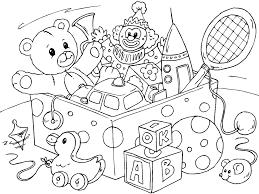 Disegni Giocattoli Per Bambini Da Colorare