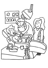 Small Picture Preschool Occupation Coloring Pages