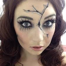 the 25 best ideas about scary doll makeup on doll make up voodoo makeup and creepy doll costume
