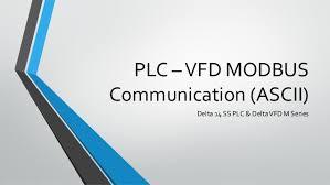 plc vfd modbus communication plc vfd modbus communication ascii delta 14 ss plc delta vfd m