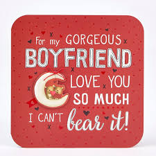 valentines days cards valentines day card exquisite collection boyfriend cant bear it