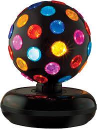 Spinning Colored Light Ball Lava The Original Multi Colored Disco Ball
