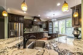 granite kitchen countertop installed