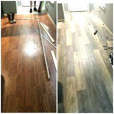 a living room with vinyl plank flooring that looks like wide hardwood lifeproof