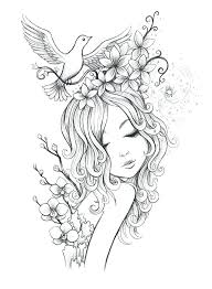 Fairy Coloring Pages For Adults And Barbie Fairy Coloring Pages