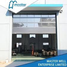 glass panel garage doors china hot aluminum clear and frost glass panel garage door s