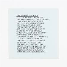 end of the usa inflammatory essay by jenny holzer on artnet end of the usa inflammatory essay by jenny holzer