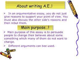 discursive and argumentative essays 4  in an argumentative essay