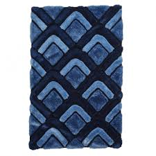 think rugs noble house dark blue chevron rug