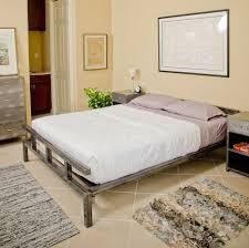 metal platform bed frame. Platform Steel Bed Frame Low Profile Lightbox Moreview Metal