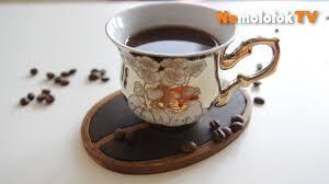 40. Делаем <b>подставку под горячее</b> в виде кофейного зерна с ...