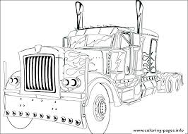 semi truck coloring pages semi truck coloring pages printable fresh water page prime ormers peterbilt semi semi truck coloring pages