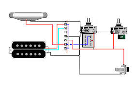humbucker wiring diagram wiring diagram and schematic design standard 2 humbuckers wiring diagram