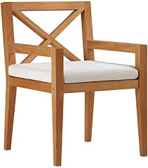 LETING vidaXL Batavia Chairs 2 pcs Solid Teak ... - Amazon.com