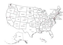 Free Printable Blank Us Map Blank Us Map States New Blank Us