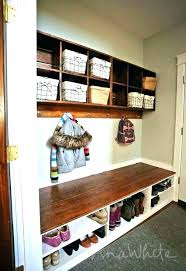 entry benches shoe storage entry bench and shelf benches shoe storage with plans entryway wall mudroom