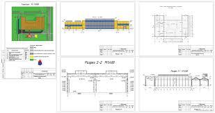 Курсовые и дипломные проекты промышленные здания скачать dwg  Курсовой проект Одноэтажное промышленное здание кузнечно прессового цеха г