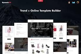 Mailchimp Responsive Design Template Trend Responsive Fashion Email Online Builder Marketing