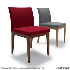 aria wood dining chair fabric  sohoconcept dining chairs