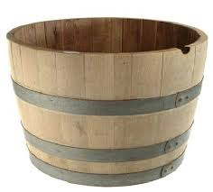 oak wine barrel barrels whiskey. Barrel Container Gardening My Life Abundant Whiskey Half Oak Wine Barrels