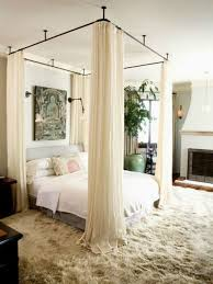 Pretty Bedroom Fantastic Bed With Sheer Curtain For Pretty Bedroom Ideas With