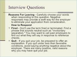 reason for leaving examples reason for leaving job in resume fluently me