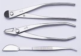 Bonsai tool Set <b>3 PCS</b> JTTK-28 <b>Wire Cutter</b> / Jin Pliers / Bonsai ...