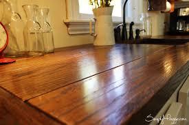 kitchen island close up. diy wide plank butcher block counter tops simplymaggie com close up kitchen island c