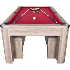Combination Pool Table Dining Room Table Newport 7 Pool Table Combo Set With Benches Walmartcom