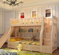 Plain Cool Bunk Beds With Slides Childrens Bed Stairs Storage And Slide Perfect Design