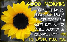 Good Morning Quotes Pictures Facebook Best Of Best Good Morning Facebook Statuses And Quotes Happiness Style