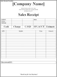 Rental Receipts Template D Receipt Download Fresh Car