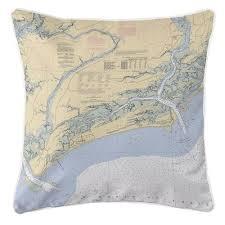 Longshore Tides Ellisburg Kiawah Island Sc Throw Pillow