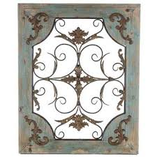 rustic turquoise wood metal wall decor on iron wall decor hobby lobby with rustic turquoise wood metal wall decor hobby lobby 130948
