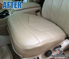 1999 ford f 150 lariat leather seat cover driver bottom tan