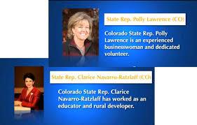 EMERGING LEADERS: Congrats to Reps. Navarro-Ratzlaff and Lawrence    Colorado Peak Politics