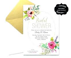 Free Wedding Invitation Card Templates Inspiration Free Bridal Shower Invitation Templates For Word And Bridal Shower